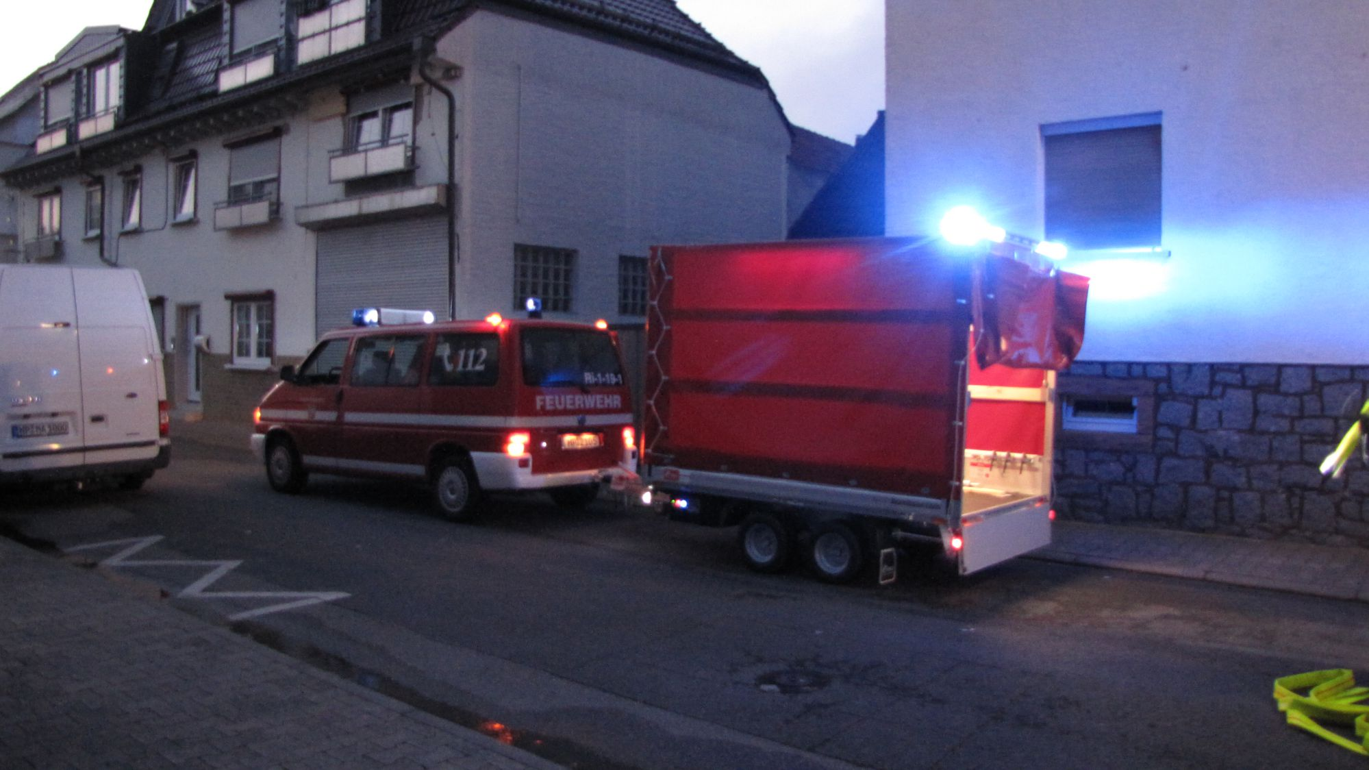 PKW-Brand in Rimbach