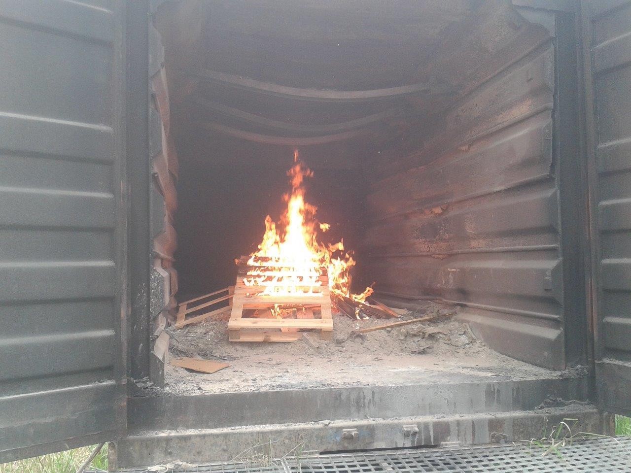 Realitätsnahe Atemschutzausbildung der Feuerwehren der Gemeinde Rimbach