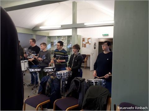 """Workshop """"Schlagzeug"""" am 24.02.2018 in Mörlenbach"""