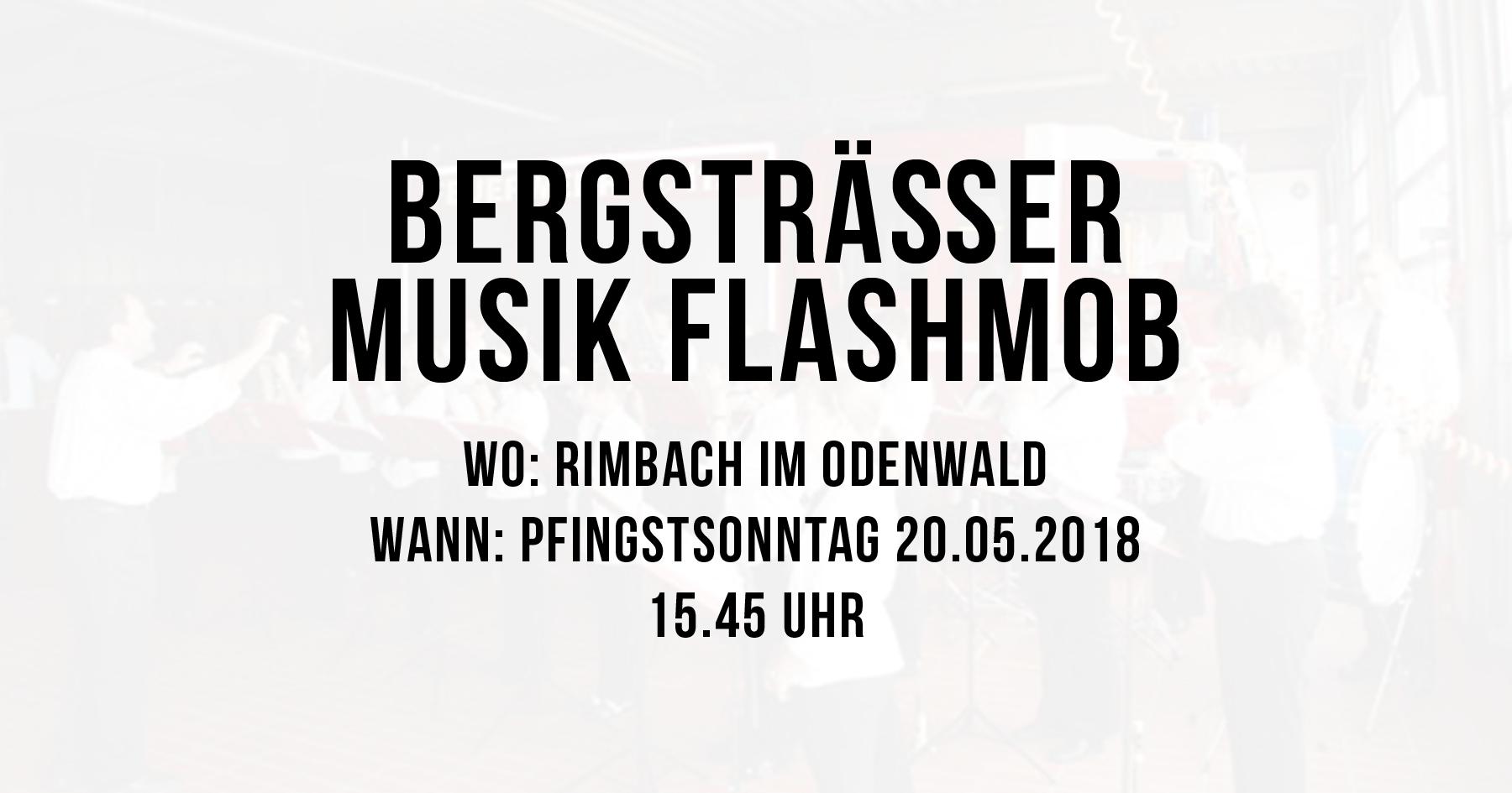 Bergsträßer Musik Flashmob