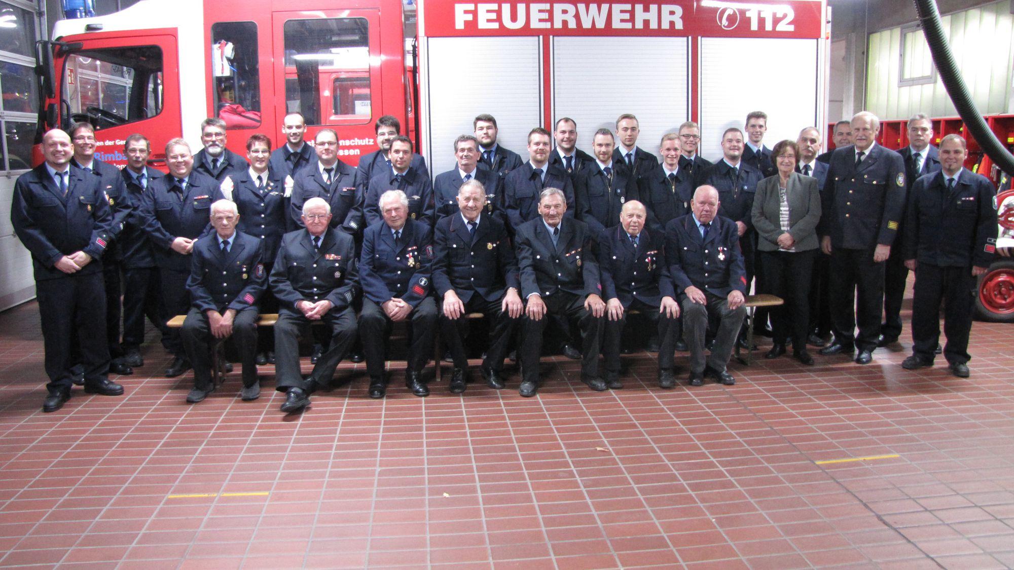 Kameradschaftsabend der Feuerwehr Rimbach