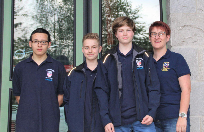 Rimbacher Feuerwehrmusiker erhalten Leistungsabzeichen