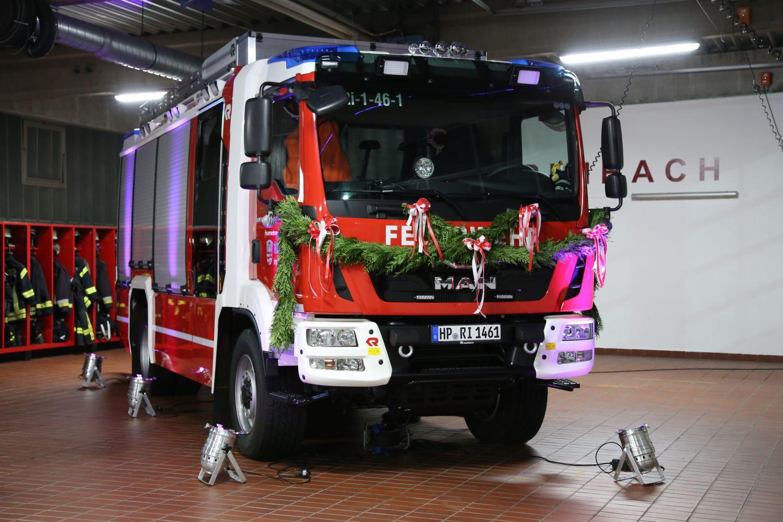 Neueste Feuerwehrtechnik zum Anfassen